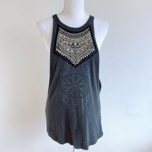 Truly Madly Deeply Embellished Muscle Tank {AP}